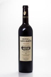 Côtes de Provence rouge Cru Classé, Château de Saint-Martin